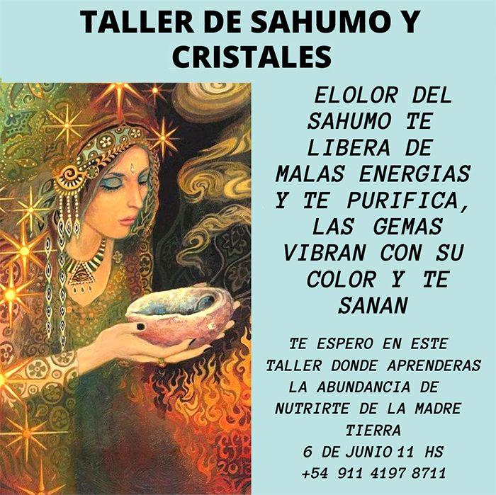 Taller de Sahumo y Cristales