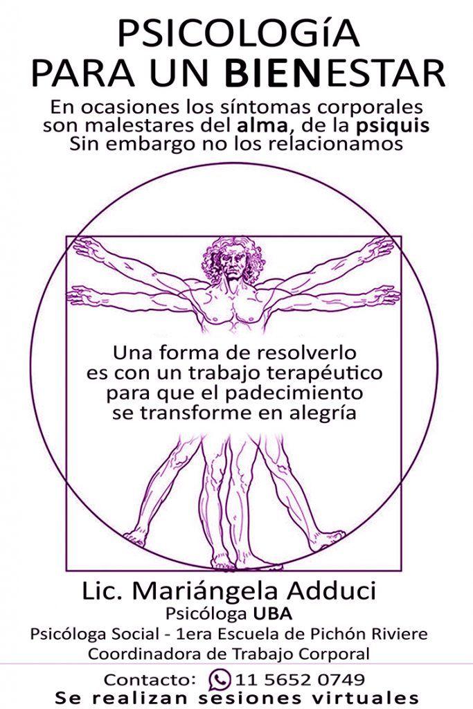 Lic. María Ángela Adduci